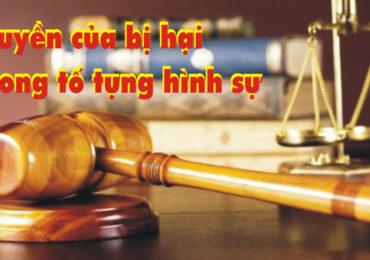 Luật sư bảo vệ người bị hại