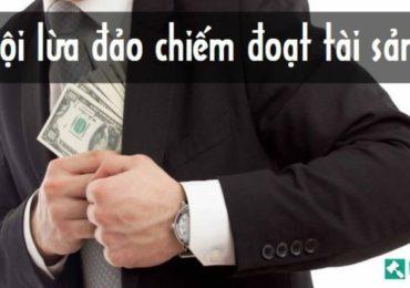 Luật sư bào chữa tội lừa đảo chiếm tài sản